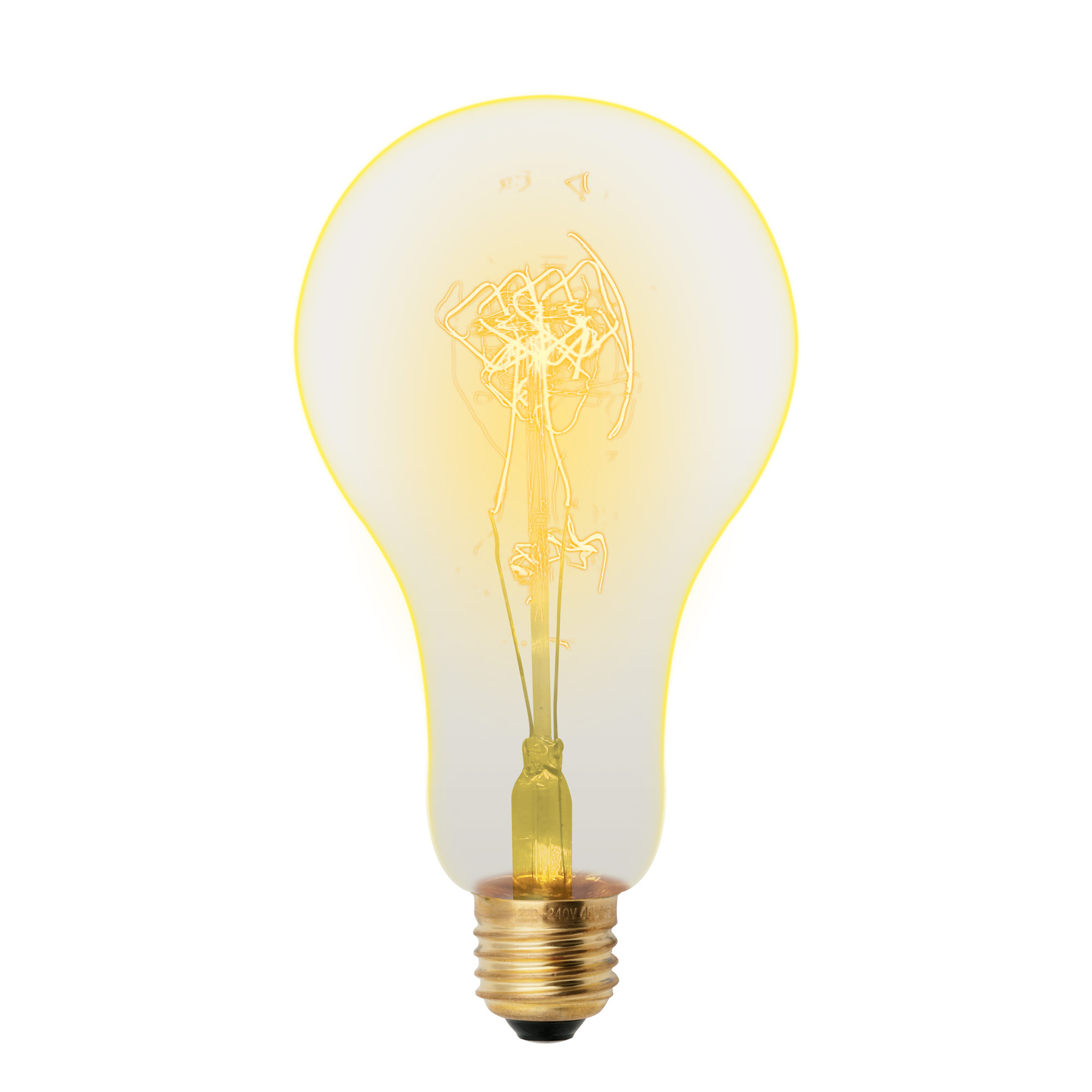 Лампа накаливания Uniel Vintage il-v-a95-60/golden/e27 sw01