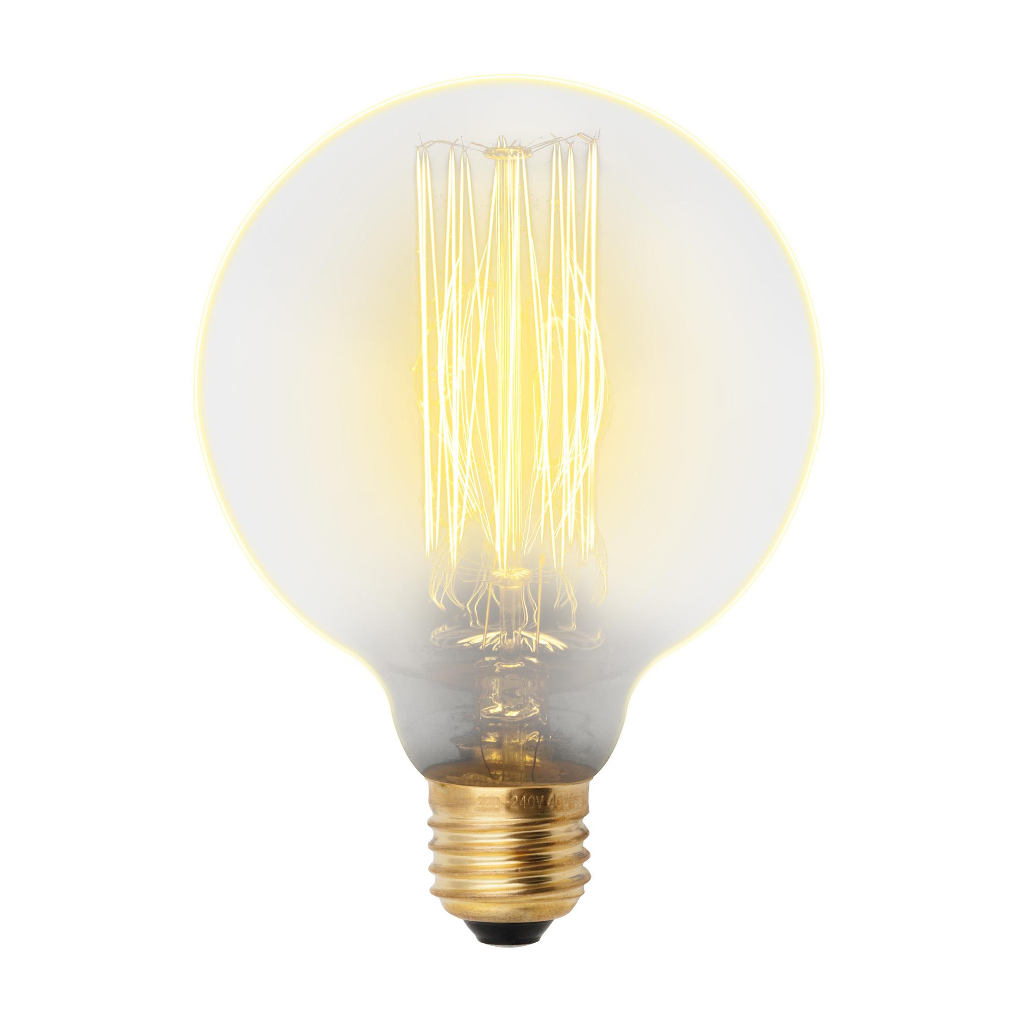 Лампа накаливания Uniel Vintage il-v-g95-60/golden/e27 vw01 10шт