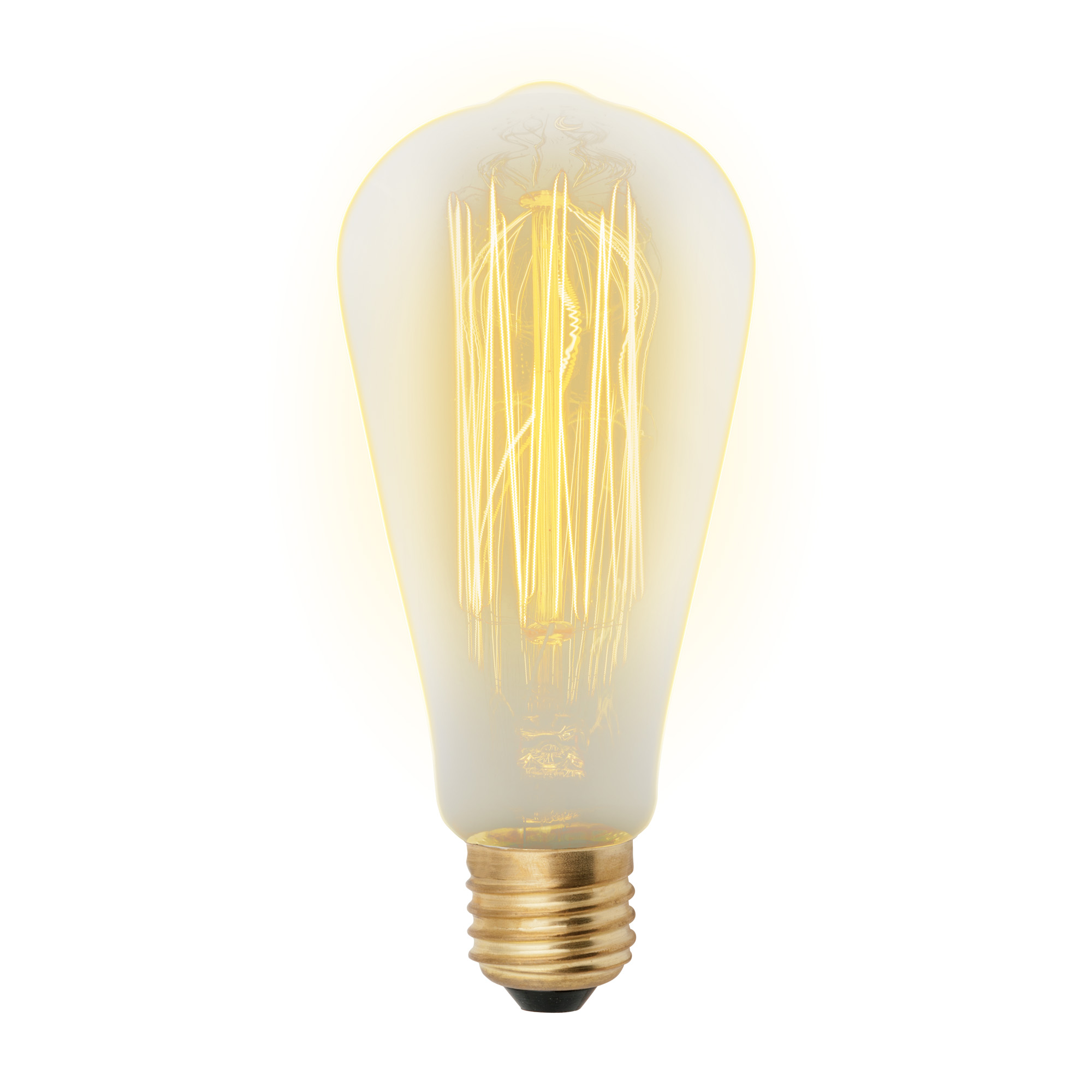 Лампа накаливания Uniel Vintage il-v-st64-60/golden/e27 vw02 10шт
