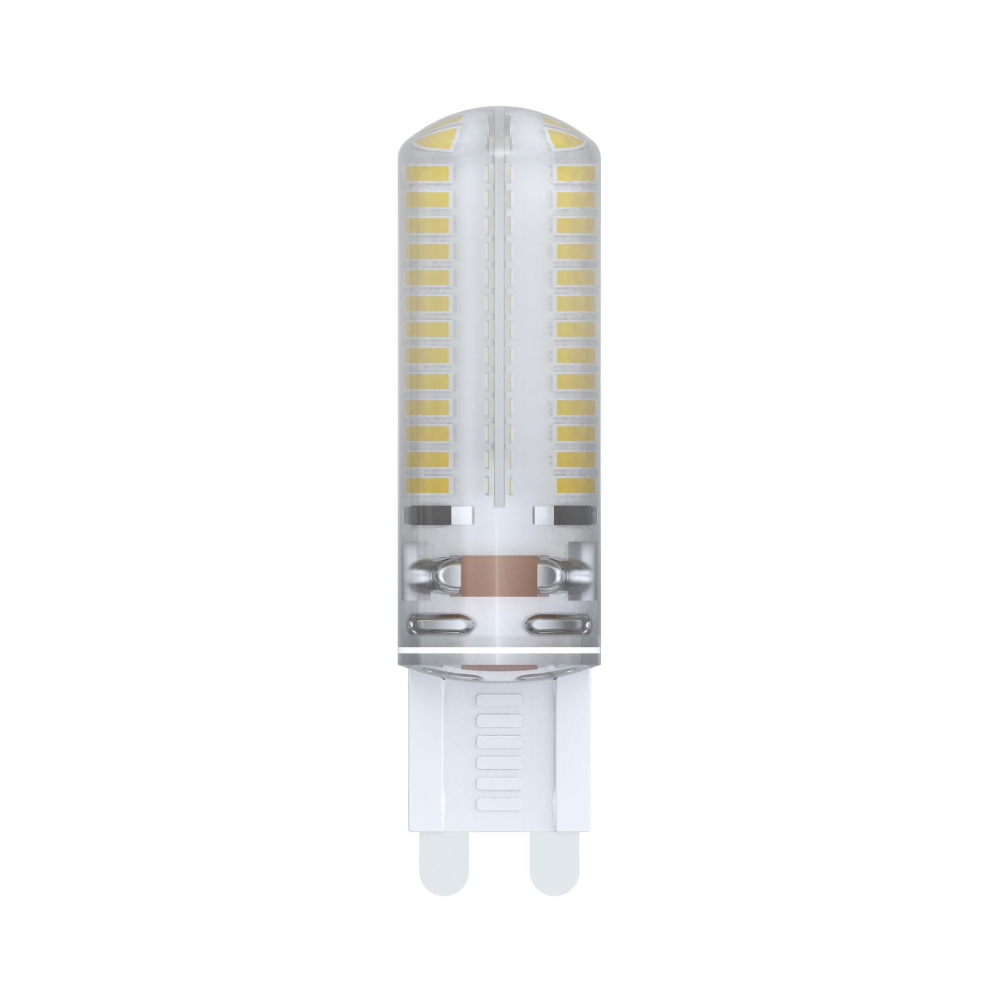 Лампа светодиодная Uniel Led-jcd-6w/nw/g9/cl siz03tr 20шт