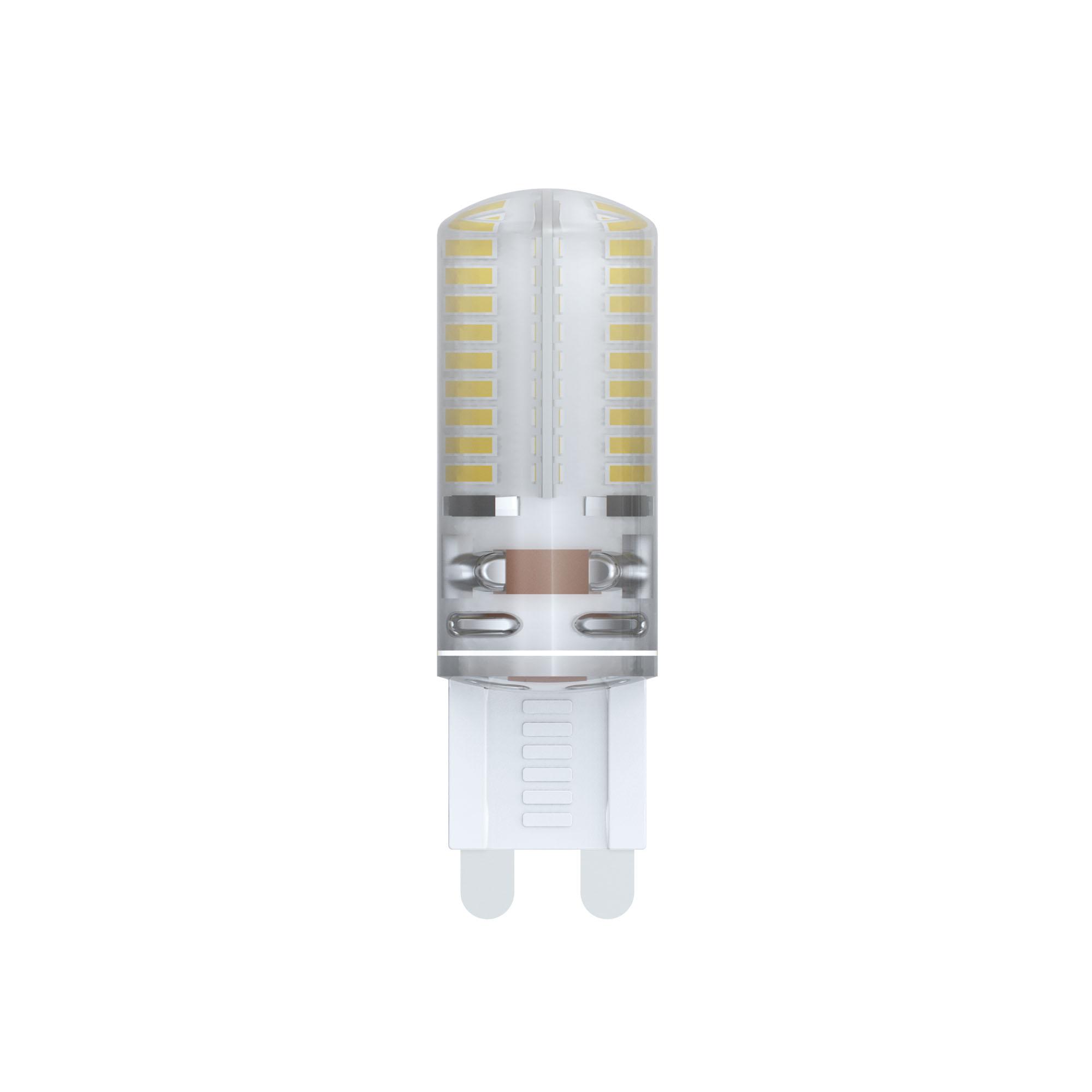 Лампа светодиодная Uniel Led-jcd-4w/nw/g9/cl/dim siz03tr 20шт лампа светодиодная диммируемая 10708 g9 25w капсульная матовый led jcd 4w ww g9 cl dim siz03tr