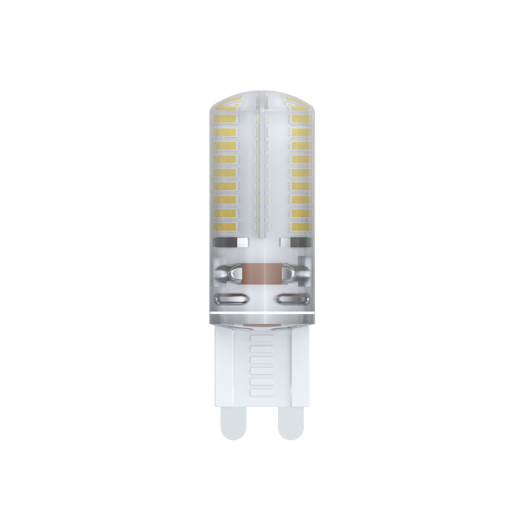 Лампа светодиодная Uniel Led-jcd-4w/ww/g9/cl/dim siz03tr 20шт