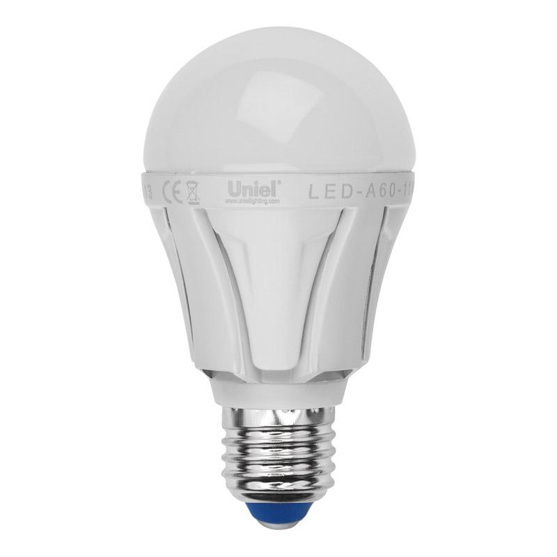 Лампа светодиодная Uniel Led-a60-11w/ww/e27/fr alp01wh 10шт лампа светодиодная uniel led a60 11w ww e27 fr dim plp01wh