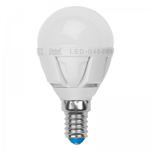 Лампа светодиодная Volpe Led-g45-6w/nw/e14/fr/s 10шт лампа светодиодная volpe led g45 6w nw e14 fr s 10шт