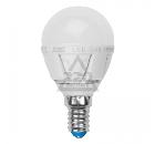 Лампа светодиодная VOLPE LED-G45-6W/NW/E14/FR/S 10шт