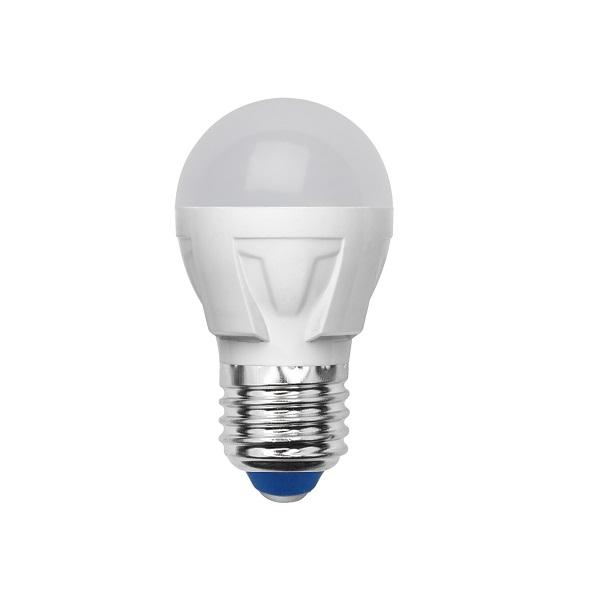 Лампа светодиодная Volpe Led-g45-6w/nw/e27/fr/s 10шт лампа светодиодная volpe led g45 6w nw e14 fr s 10шт