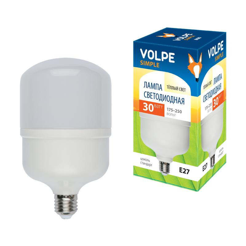 Лампа светодиодная Volpe Led-m80-30w/ww/e27/fr/s твердотельный накопитель ssd m 2 512gb transcend mts600 read 560mb s write 160mb s sataiii ts512gmts600