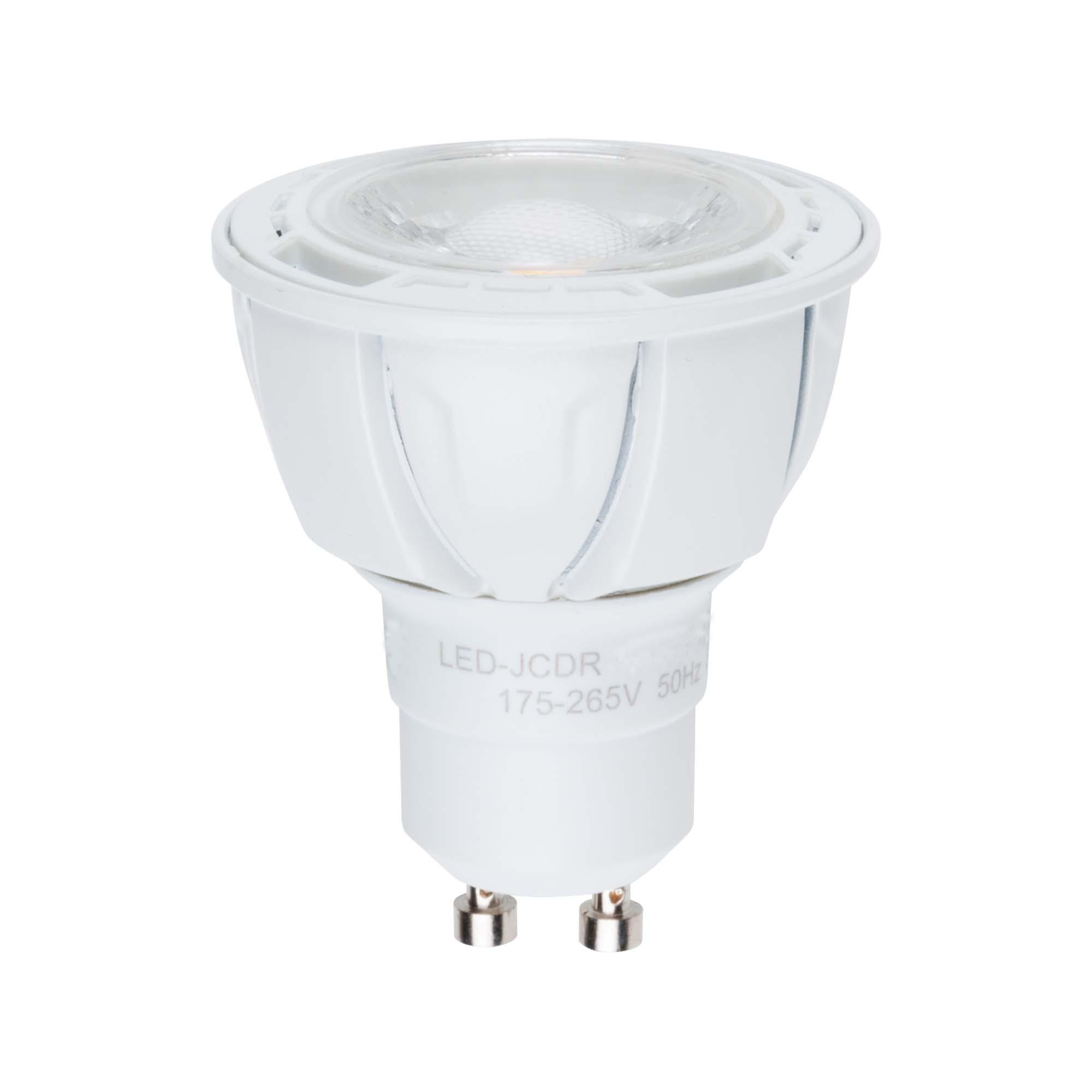 Лампа светодиодная Volpe Led-jcdr-5w/ww/gu10/s 25шт goodeck лампа светодиодная goodeck рефлекторная матовая gu10 5 5w 4100k gl1007024206