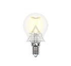 Лампа светодиодная UNIEL LED-G45-6W/WW/E14/FR PLS02WH 10шт