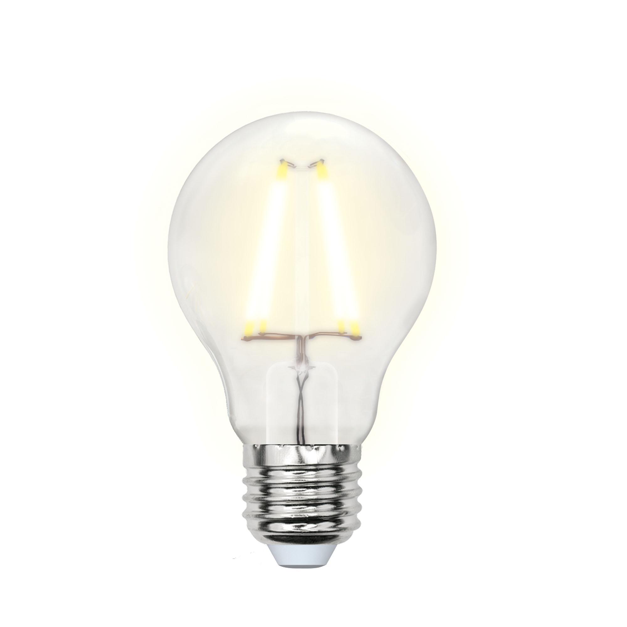 Лампа светодиодная Uniel Led-a60-8w/ww/e27/fr pls02wh 10шт
