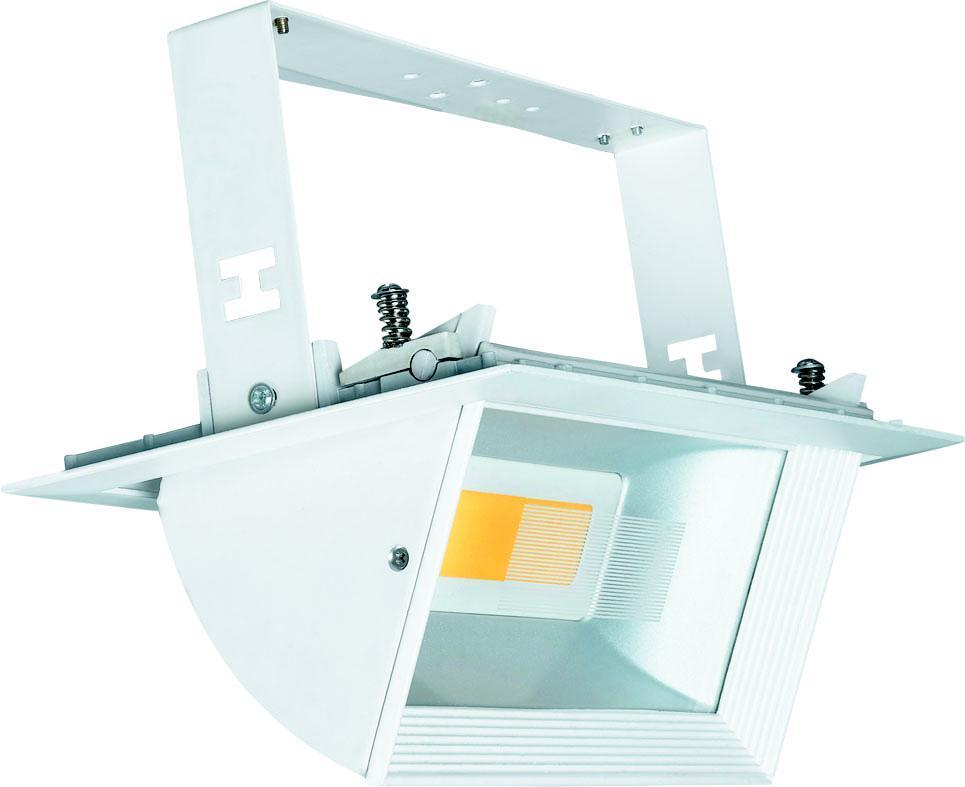 Светильник встраиваемый Uniel Ulk-m02e-30w/ww white acerbis guard hand m concept e white 2244140002 pu