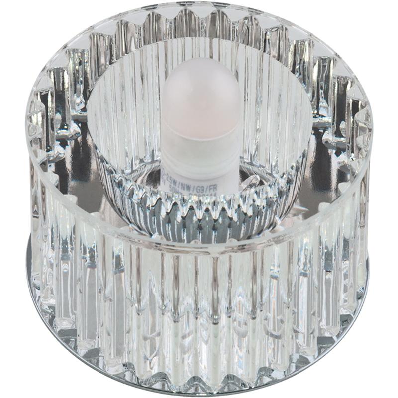 Купить Светильник встраиваемый Fametto Dls-f104 g9 chrome/clear