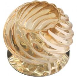 Купить Светильник встраиваемый Fametto Dls-f113 g9 chrome/amber