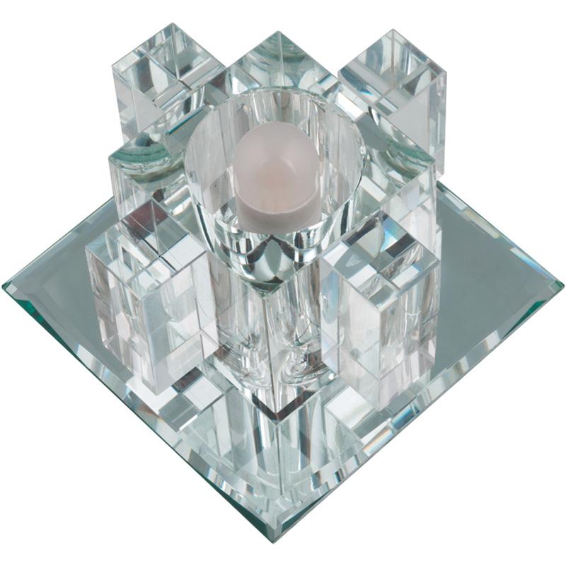 Купить Светильник встраиваемый Fametto Dls-f117 g9 glassy/clear