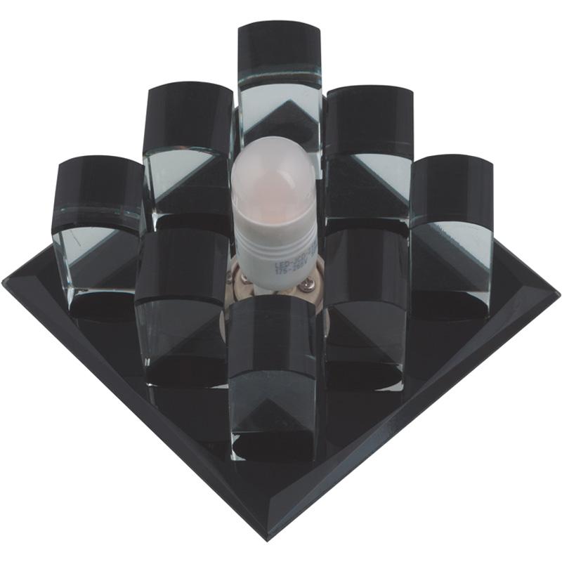 Купить Светильник встраиваемый Fametto Dls-f118 g9 black/clear