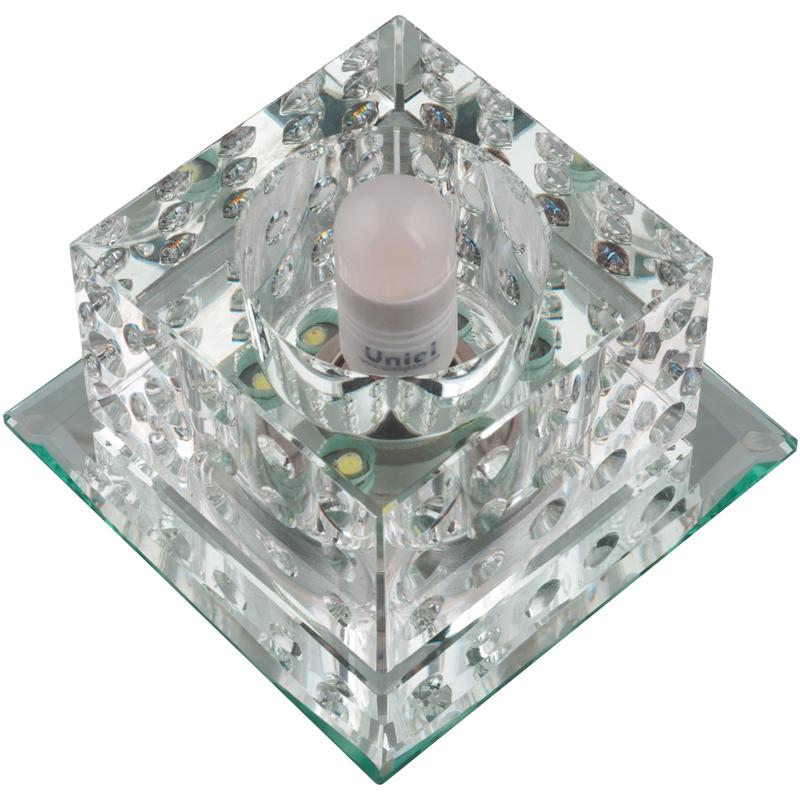 Купить Светильник встраиваемый Fametto Dls-l116 g9 glassy/clear