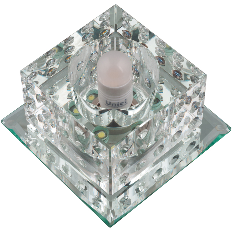 Светильник встраиваемый Fametto Dls-l116 g9 glassy/clear
