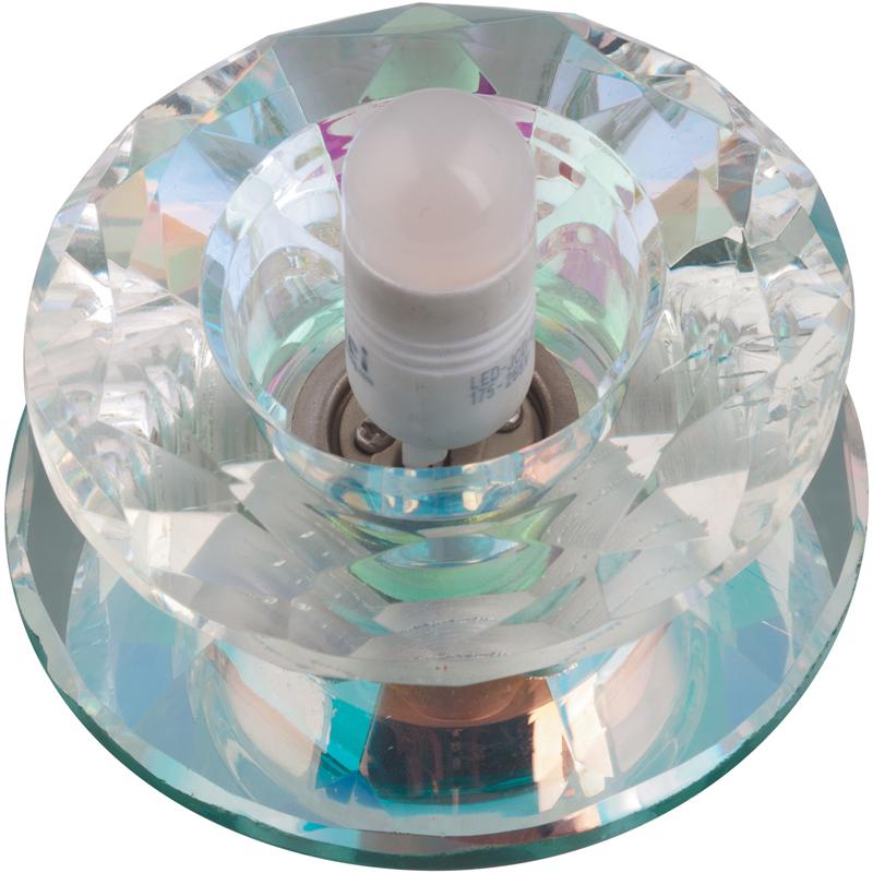 Купить Светильник встраиваемый Fametto Dls-l117 g9 glassy/rainbow