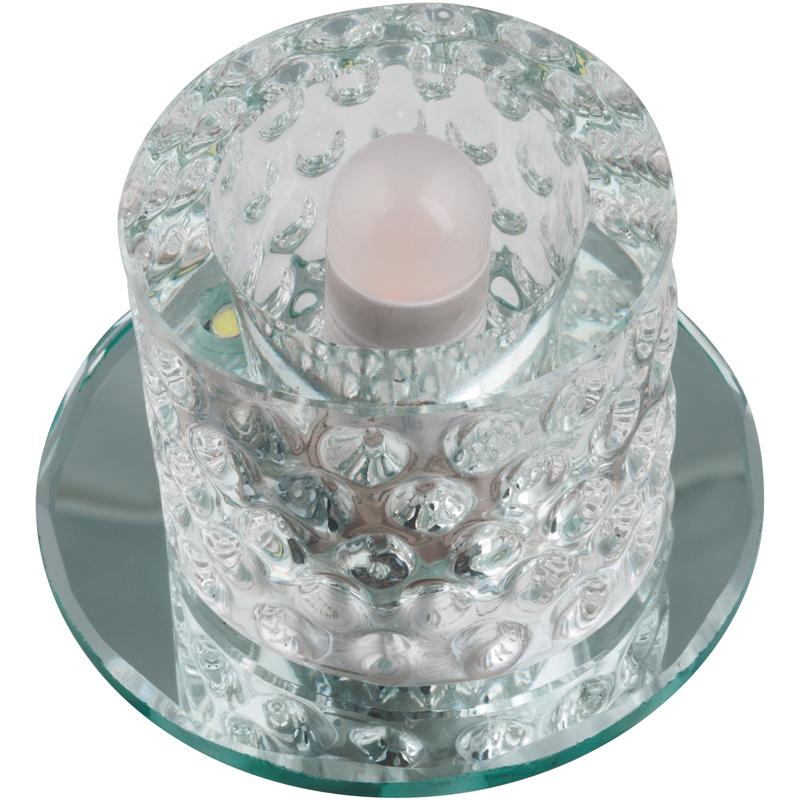 Светильник встраиваемый Fametto Dls-l118 g9 glassy/clear dls w308b