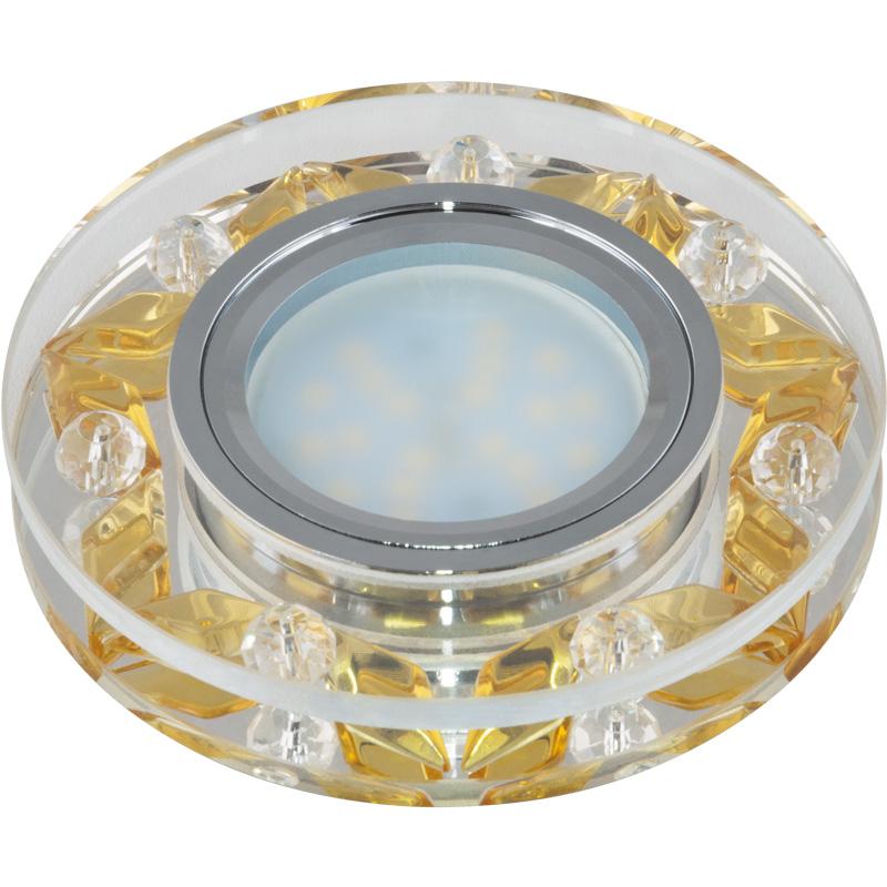Светильник встраиваемый Fametto Dls-p103 gu5.3 chrome/gold anon маска сноубордическая anon somerset pellow gold chrome