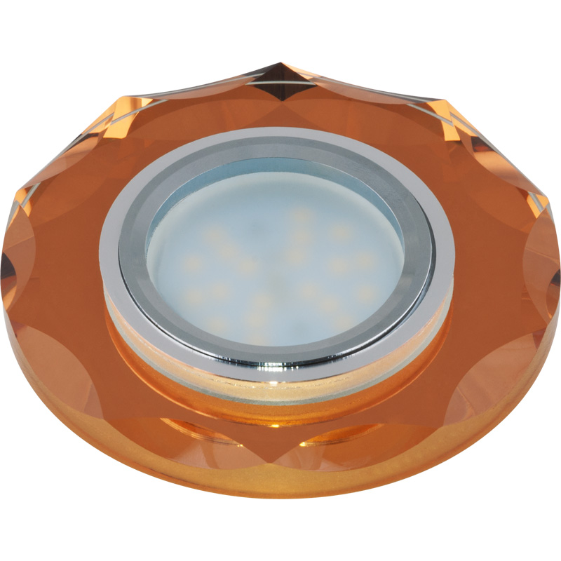 Светильник встраиваемый Fametto Dls-p105 gu5.3 chrome/bronze покрывало marianna покрывало blair 140х200 см