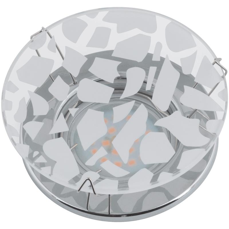 Светильник встраиваемый Fametto Dls-s200 gu5.3 chrome/white батарея для qtek s200