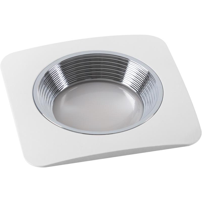 Светильник встраиваемый Fametto Dls-v102 gu5.3 white+chrome dls mb6i white