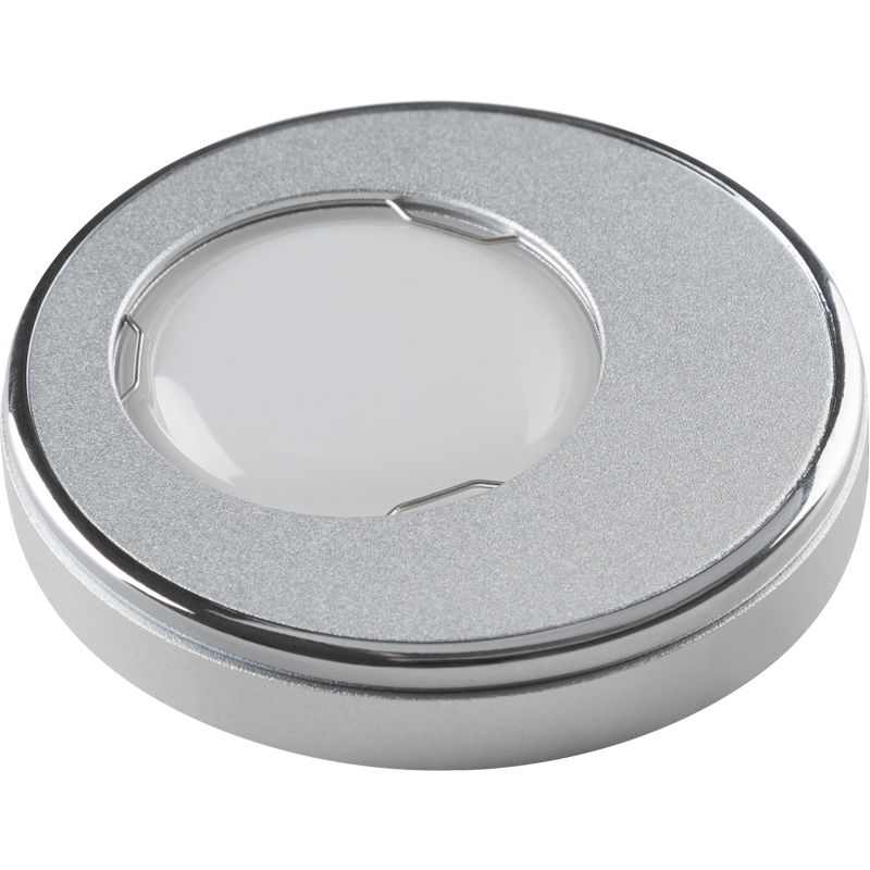 Светильник встраиваемый Fametto Dls-v104 gu5.3 sand silver+chrome dls w310d