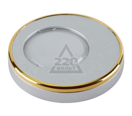 Светильник встраиваемый FAMETTO DLS-V104 GU5.3 SAND SILVER+GOLD