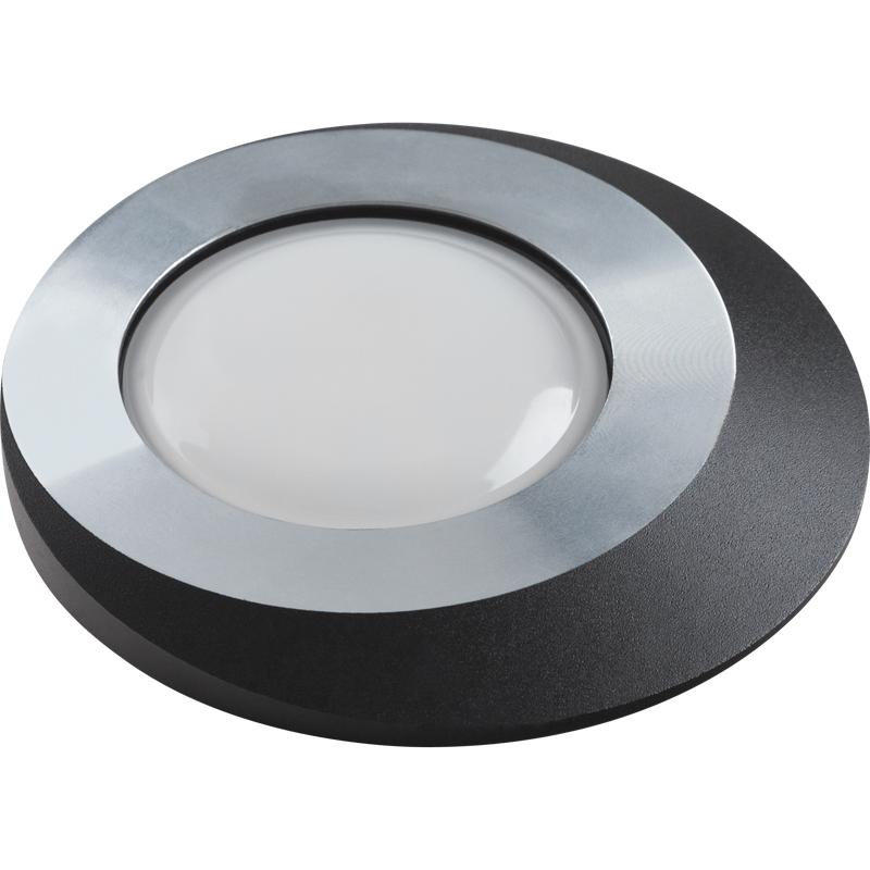Светильник встраиваемый Fametto Dls-v105 gu5.3 chrome+black автоакустика dls mx26