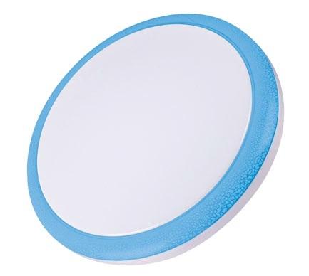 Светильник настенно-потолочный Volpe Uli-q101 18w/nw white/blue потолочный светодиодный светильник 09914 volpe 6500k ulp q101 6060 33w dw silver