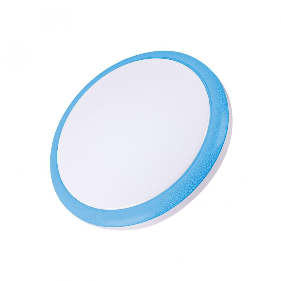 Светильник настенно-потолочный Volpe Uli-q101 24w/nw white/blue диско шар volpe uli q302