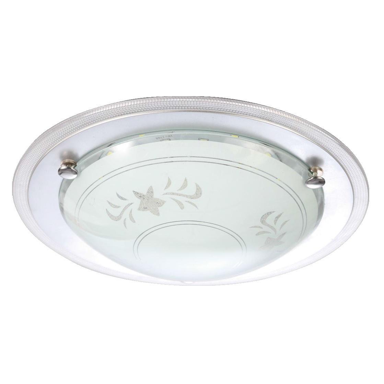 Светильник настенно-потолочный Volpe Uli-q102 12w/nw white/silver диско шар volpe uli q302