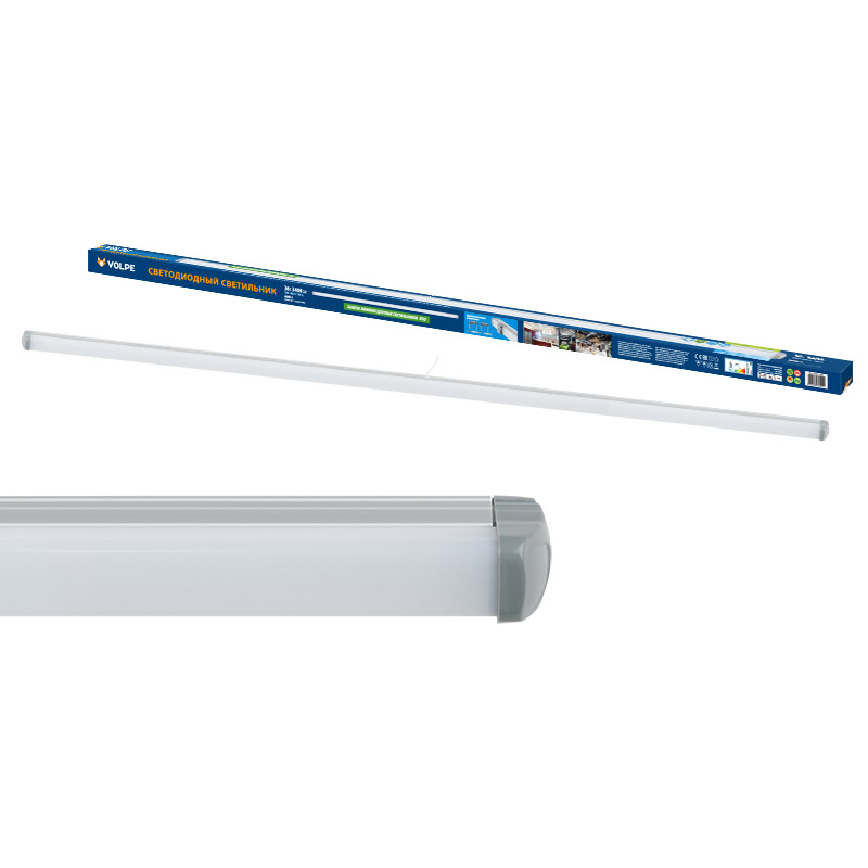 Светильник настенно-потолочный Volpe Ulo-q141 al120-36w/nw silver