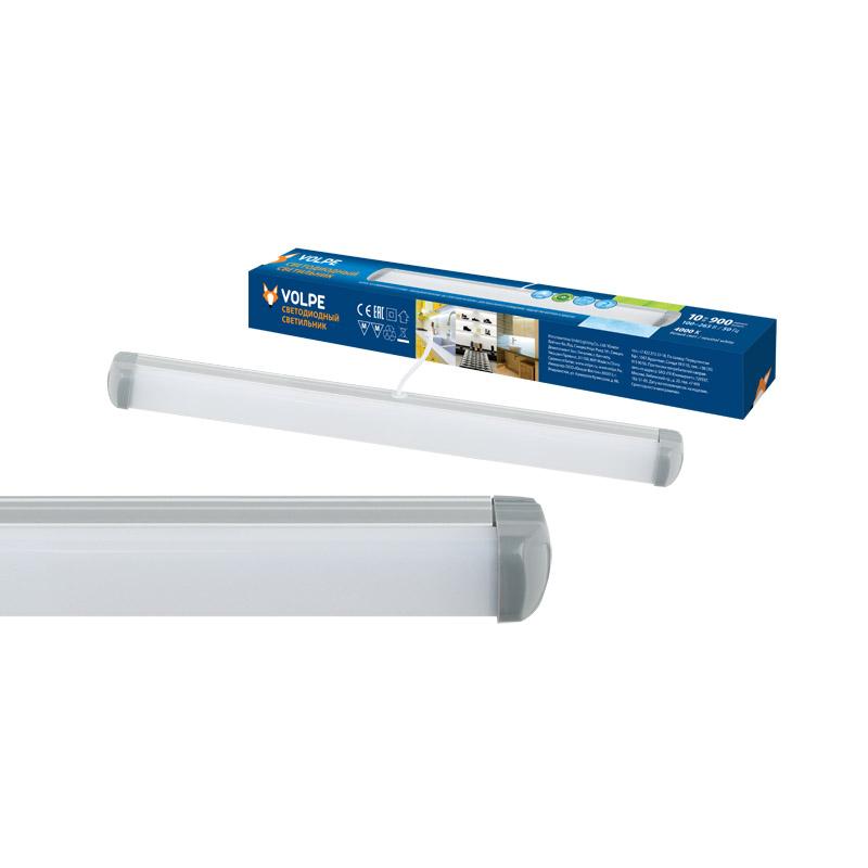 Светильник настенно-потолочный Volpe Ulo-q141 al30-10w/nw silver