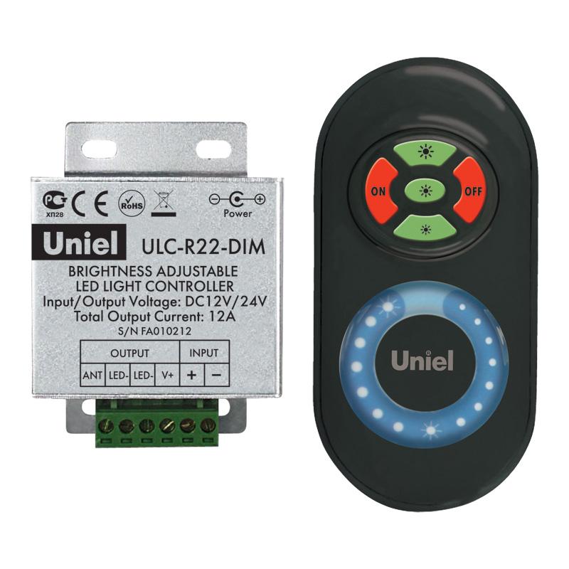 Фото. Контроллер Uniel Ulc-r22-dim black