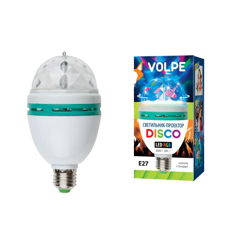 Светильник-проектор Volpe Uli-q301 от 220 Вольт