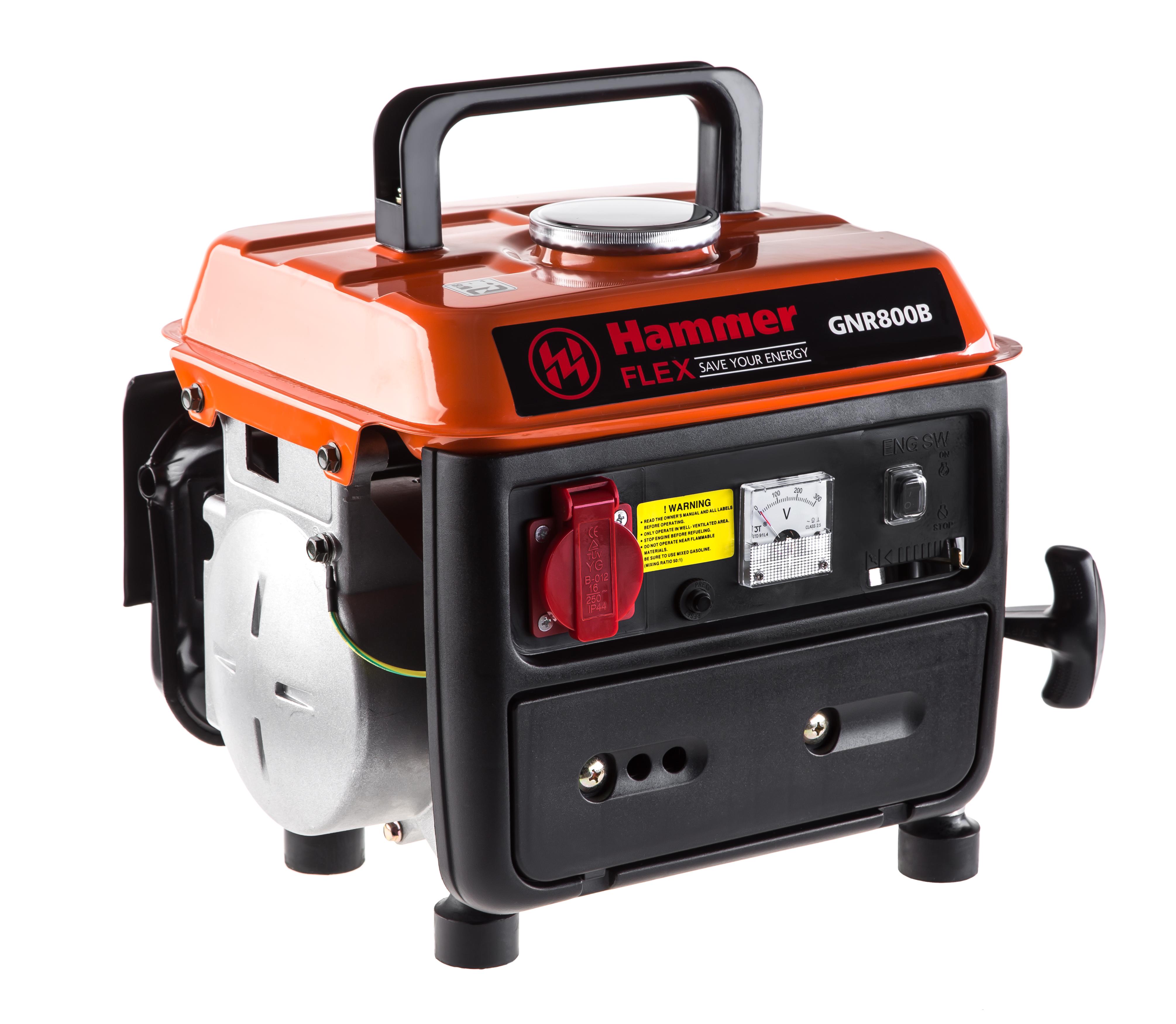 Бензиновый генератор Hammer Gnr800b бензиновый генератор firman rd8910e1