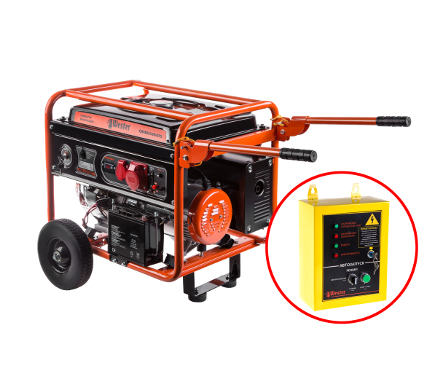 Купить Бензиновый генератор WESTER GNB6500ATS, генераторы (электростанции)
