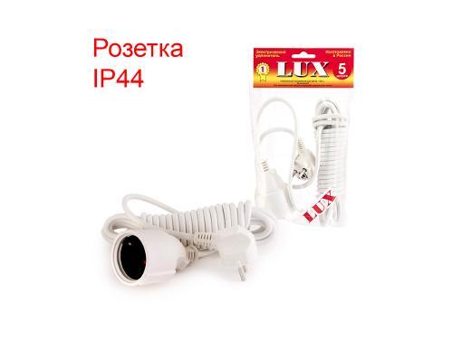 Удлинитель LUX У-161-05 ПВС 2х0.75