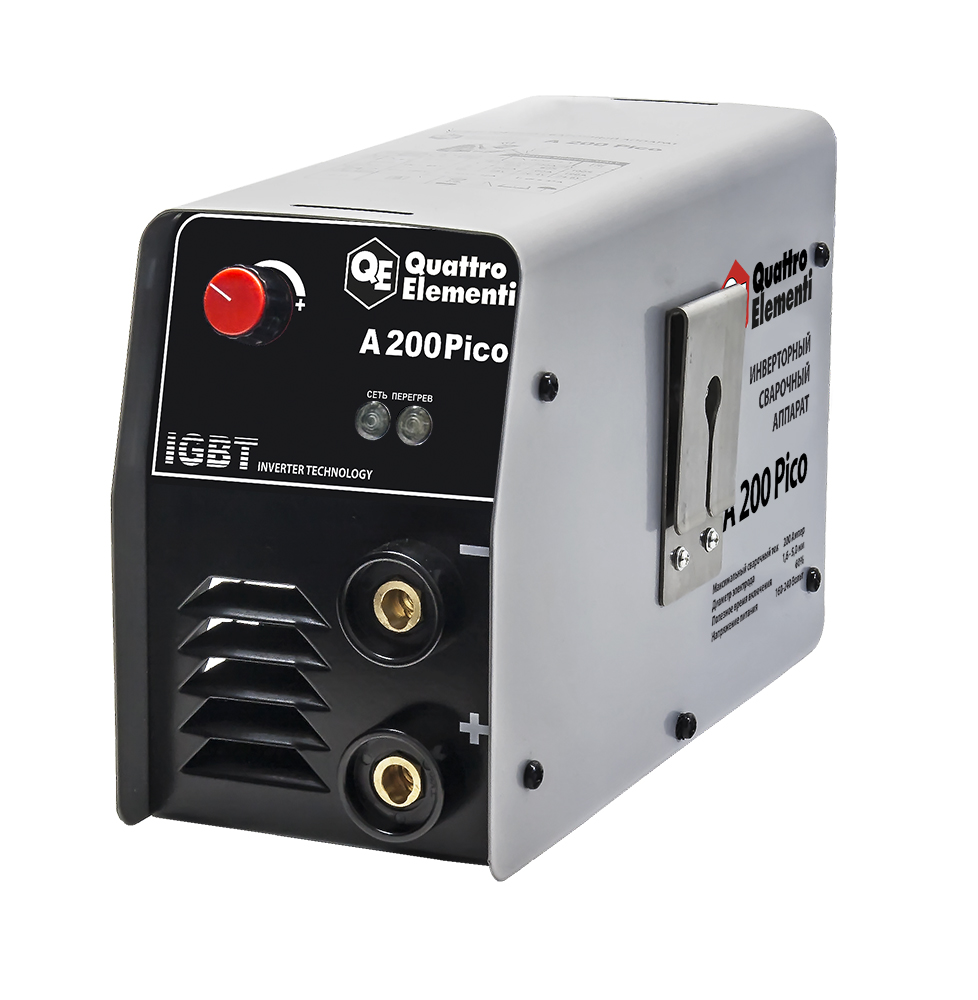 Сварочный аппарат Quattro elementi A 200 pico