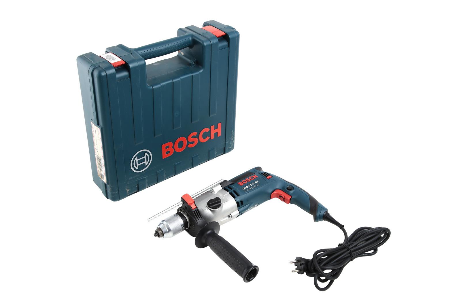 Дрель ударная Bosch Gsb 21-2 re (0.601.19c.500)