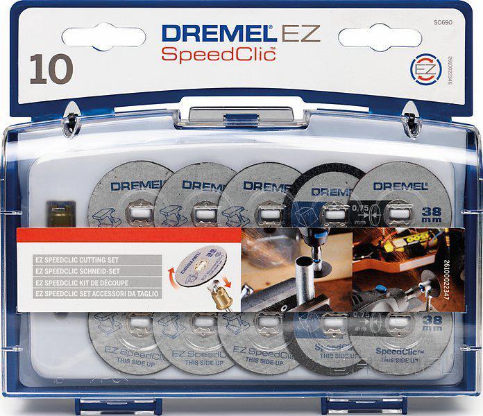 Набор насадок для дрели Dremel Sc690 speed clic набор для домашнего декора dremel f013g290jd