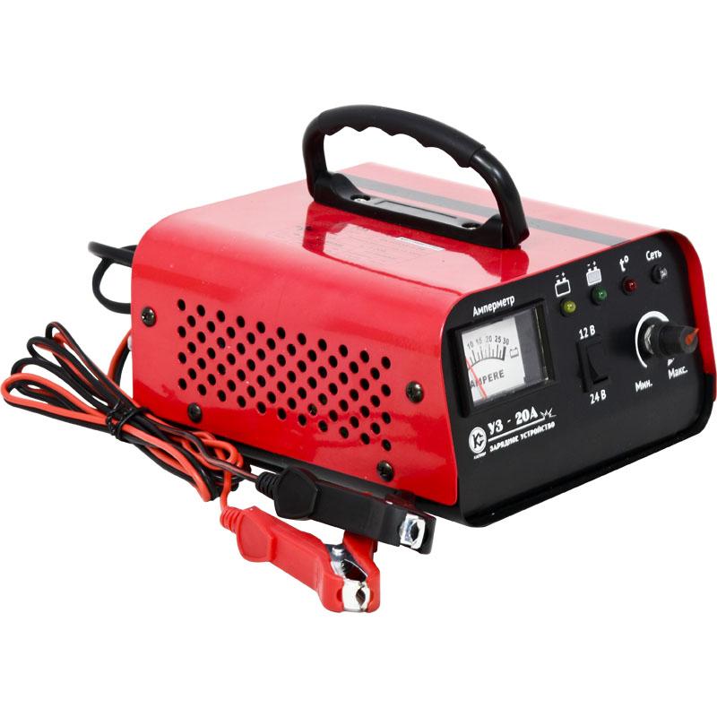 Зарядное устройство КАЛИБР УЗ-20А аккумулятор для легкового автомобиля fb specialist 60b24l fb7000 ач48 470en