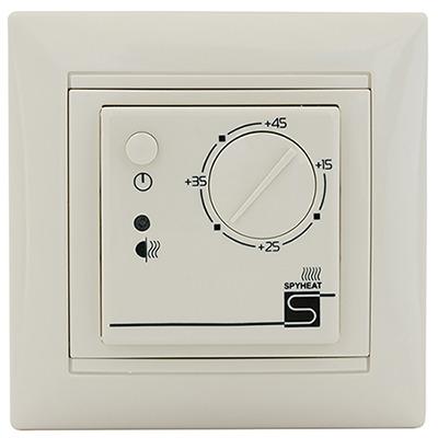 Терморегулятор Spyheat Etl- 308В беж.  терморегулятор электронный spyheat etl 308b белый