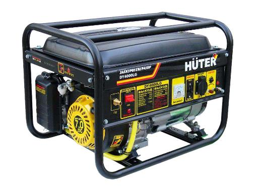 Комбинированный генератор HUTER DY4000LG