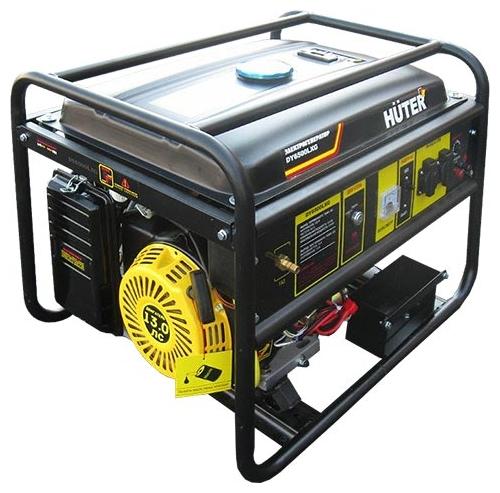 Генератор Huter Dy6500lxg бензиновый генератор huter dy6500lxg