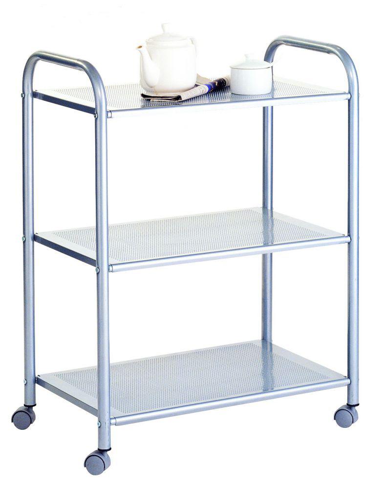 Столик Pristine F65 этажерка столик с3 мя корзинками atlanta цвет серебристый белый