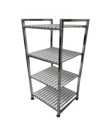 Этажерка Pristine Ws004wh этажерка столик с3 мя корзинками atlanta цвет серебристый белый