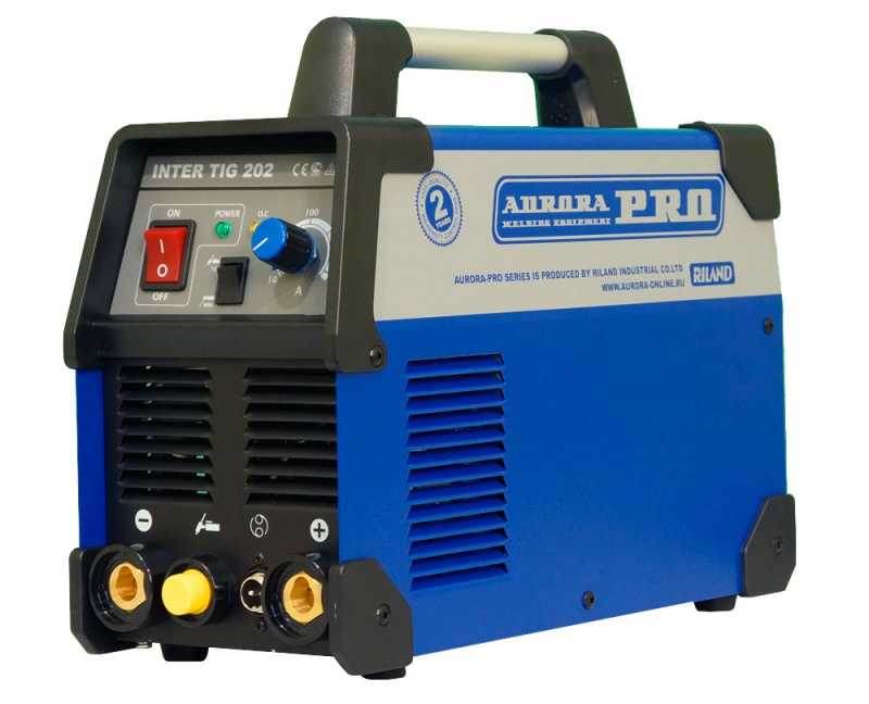 Сварочный аппарат Aurora pro Inter tig 202 mosfet сварочный аппарат сварог pro tig 200 p dsp w212